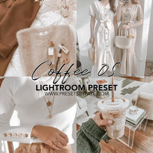 Load image into Gallery viewer, 5 Coffee Presets | Lightroom Presets