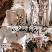 Load image into Gallery viewer, COFFEE LIGHTROOM PRESETS - PresetsbyFaye