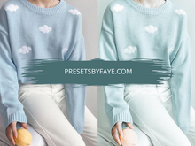 Load image into Gallery viewer, CLOUD BLUE LIGHTROOM PRESETS - PresetsbyFaye