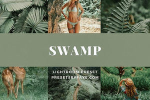 SWAMP LIGHTROOM PRESETS - PresetsbyFaye