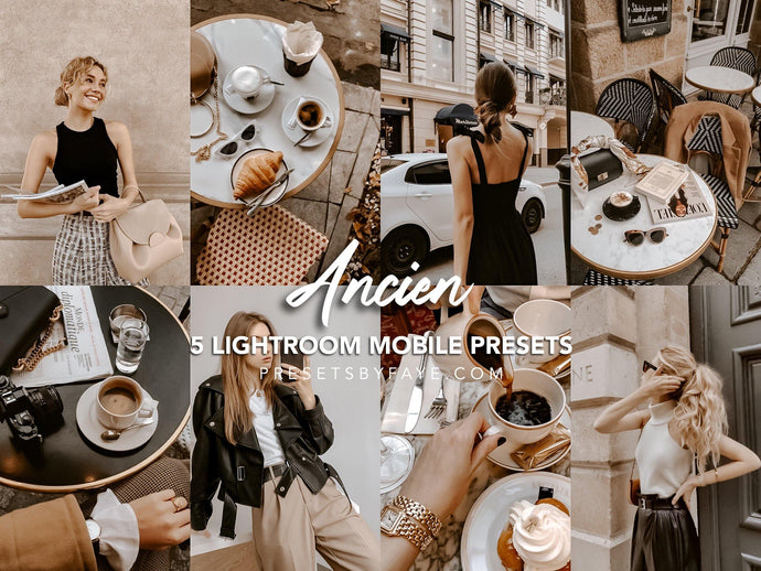ANCIEN LIGHTROOM PRESETS - PresetsbyFaye