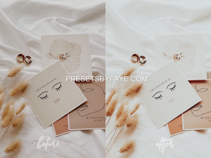 5 Soft Cream Presets | Lightroom Presets