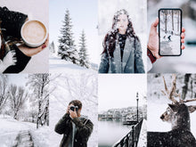 Load image into Gallery viewer, 10 Winter Holiday Presets | Lightroom Presets
