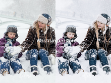 Load image into Gallery viewer, WINTER HOLIDAY LIGHTROOM PRESETS - PresetsbyFaye