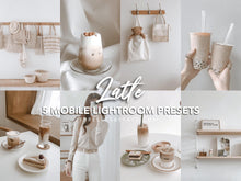 Load image into Gallery viewer, LATTE LIGHTROOM PRESETS - PresetsbyFaye