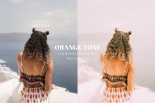 Load image into Gallery viewer, 5 Orange Tone Presets | Lightroom Presets
