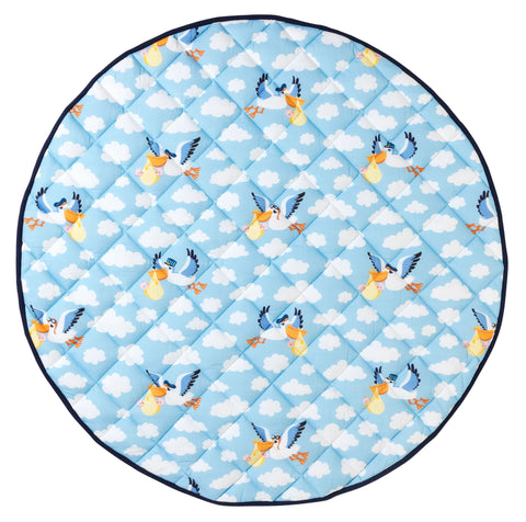 Plucky Pelican Quilted Play Mat