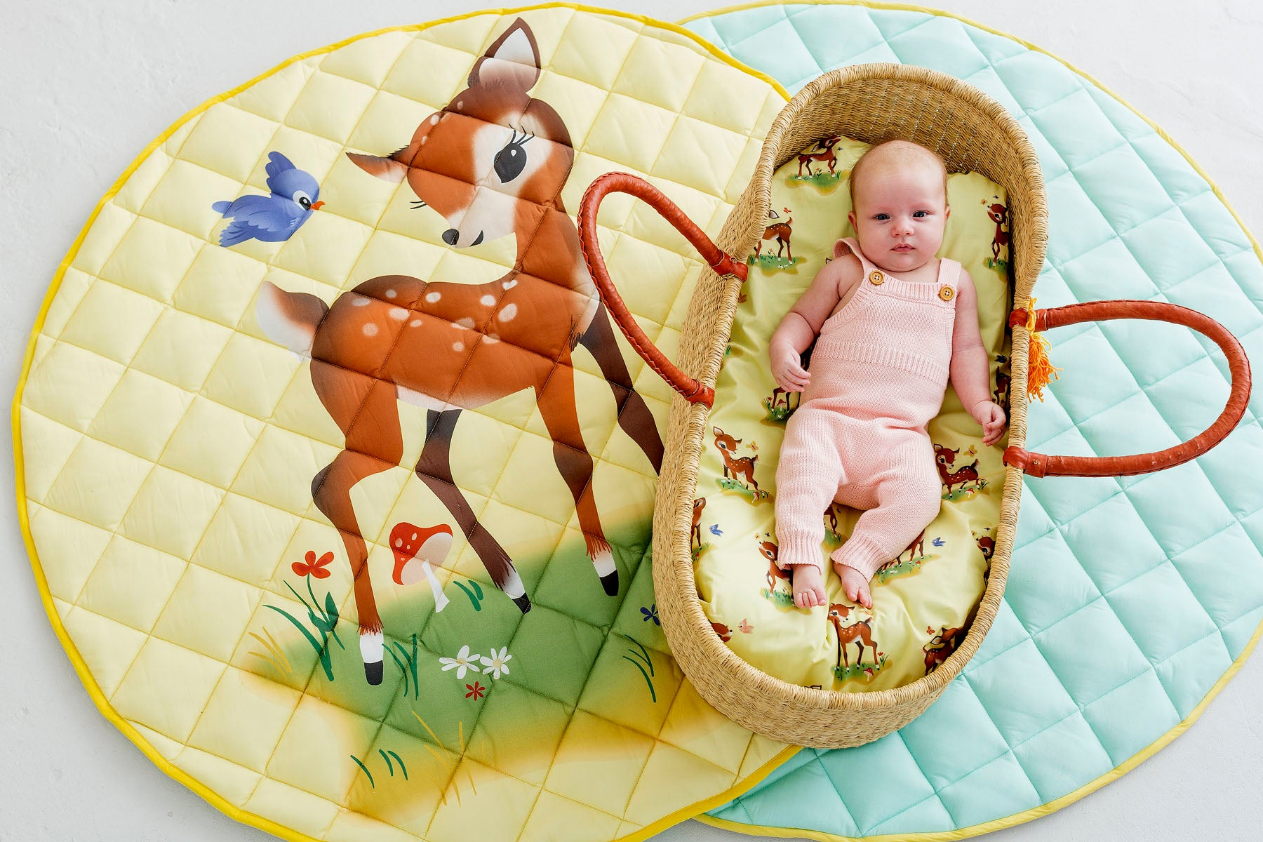 Bambi Bassinet Fitted Sheet