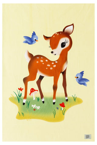 Bambi Cot Fitted Sheet  (Placement)