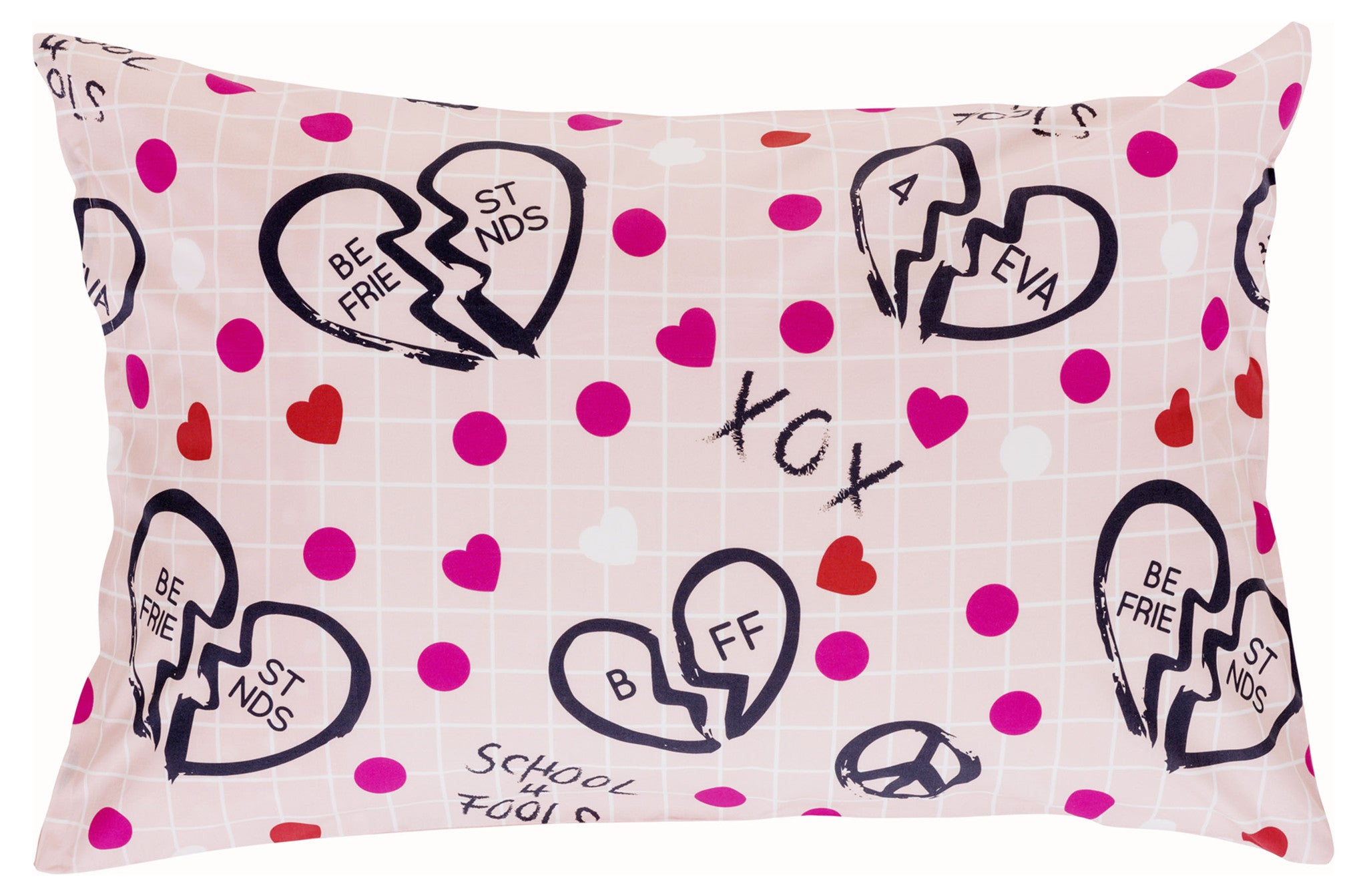 Best Friends Reversible Pillowcase