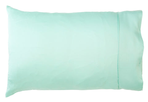 Cot Pillowcase Mint