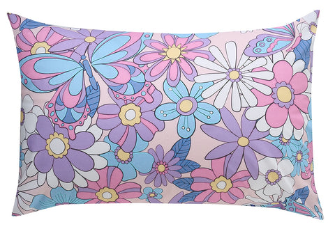 Flutterfly Reversible Pillowcase