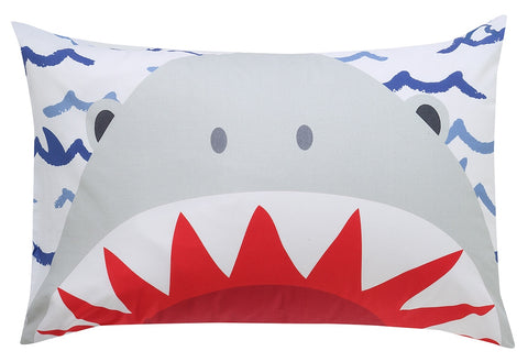 Jaws Reversible Pillowcase