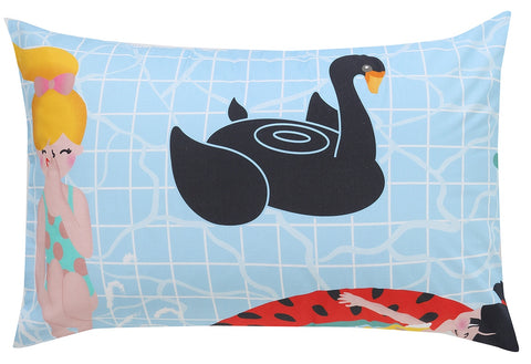 Pool Party Reversible Pillowcase