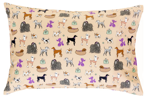 Puppy Love Reversible Pillowcase
