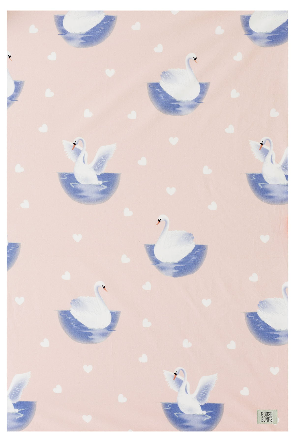 Swanning Around Bassinet Fitted Sheet