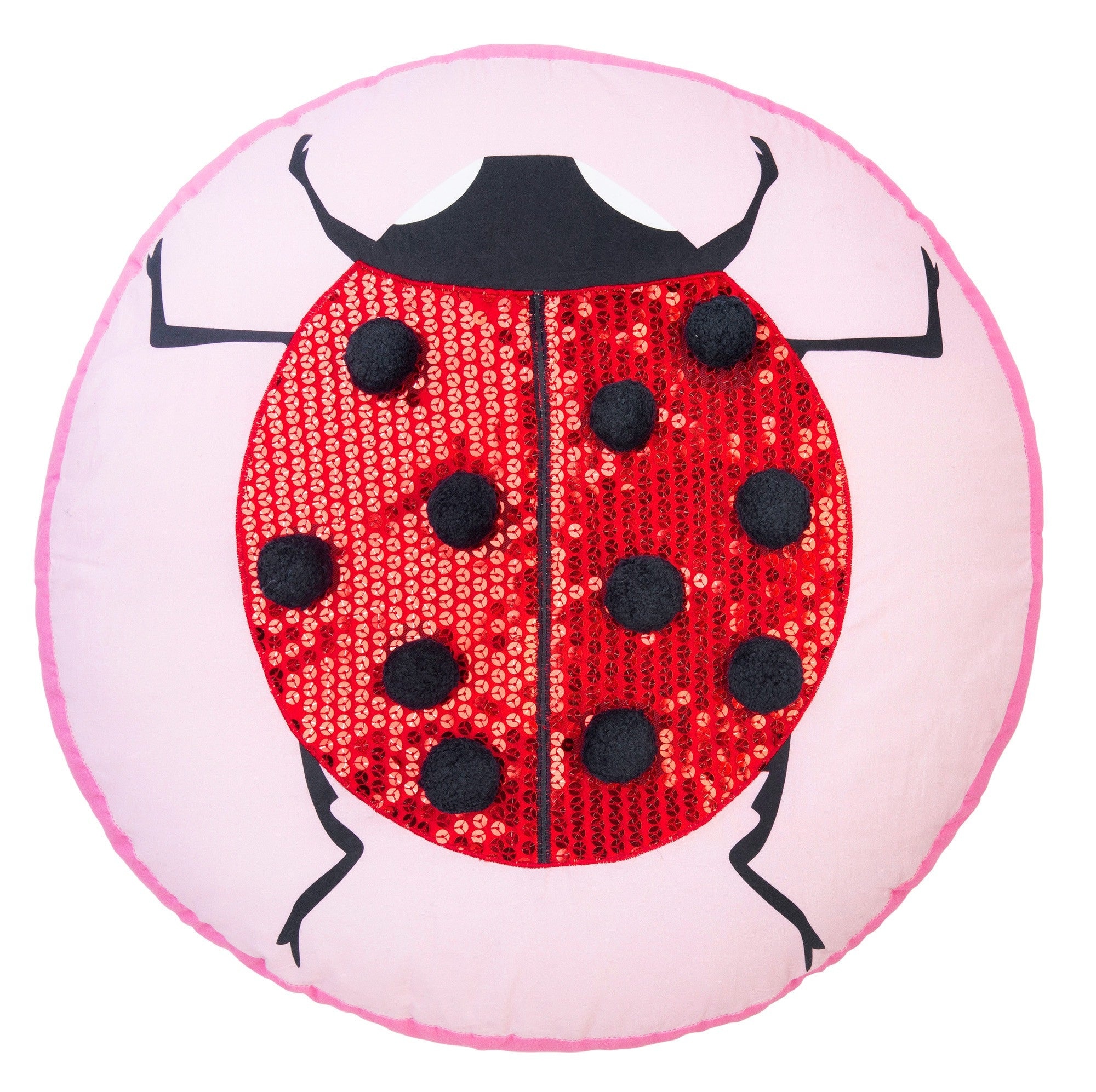 Lady Bug Love Cushion
