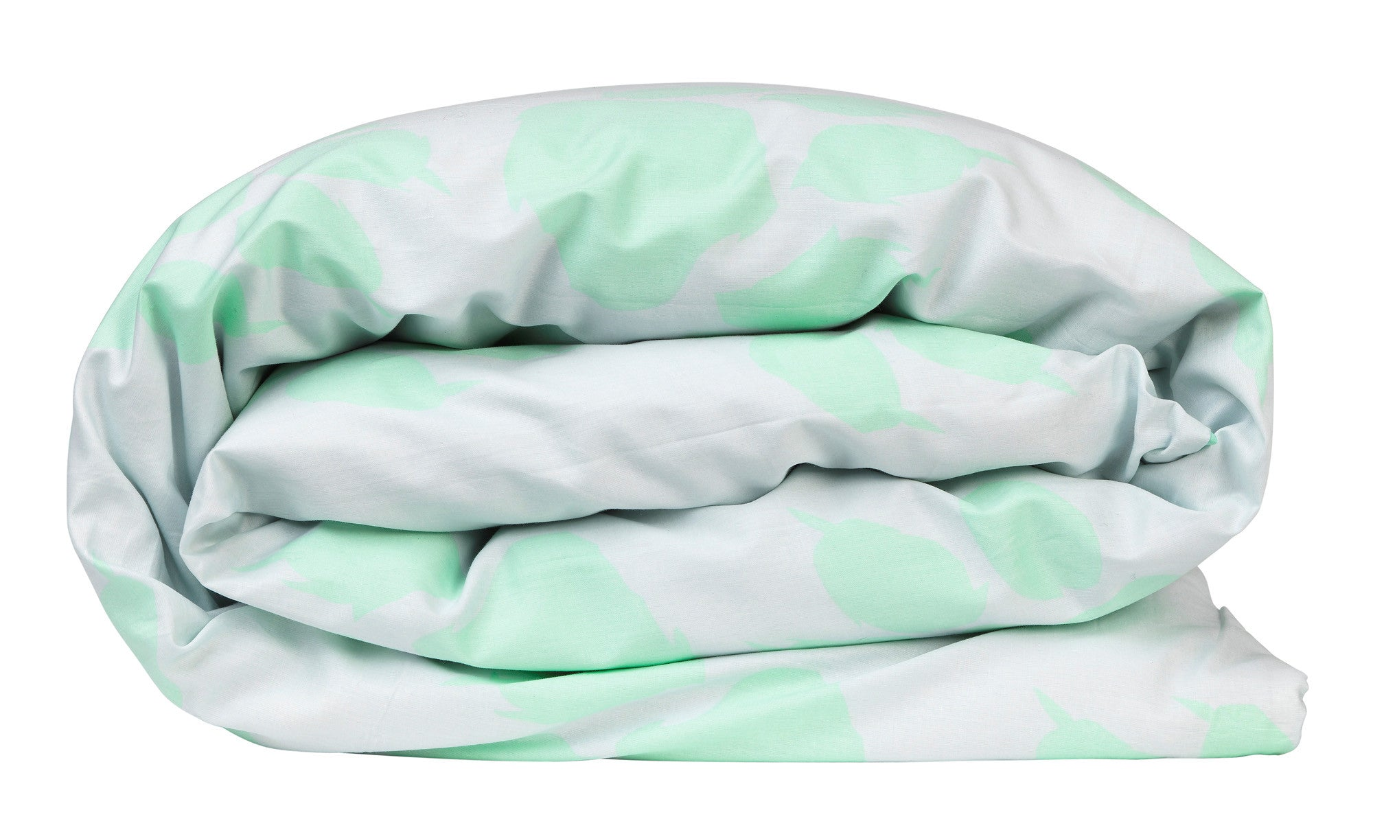 Mint Paw Quilt Cover