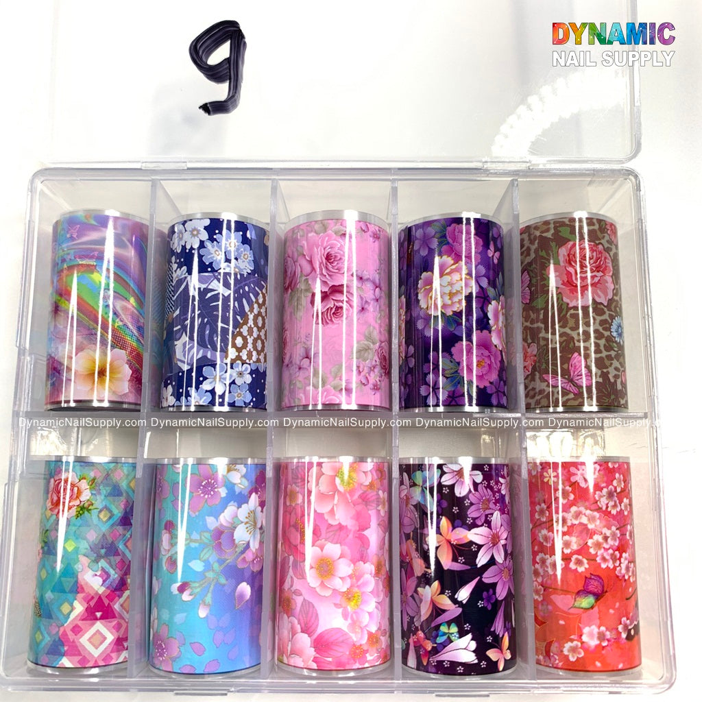 Holographic Nail Sheets Nail Art Decoration Transfer Decals Starry Sky Sticker Nail Art Sticker