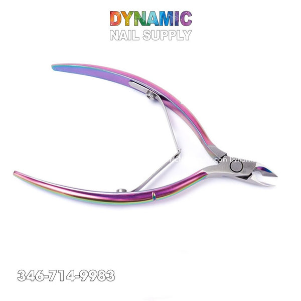 Stainless Steel Cuticle Trimmer with Cuticle Pusher - Manicure Tools - Dynamic Nail Supply
