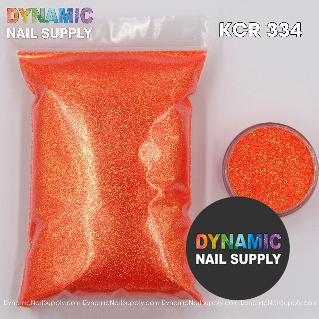 White Glitter Dipping Powder