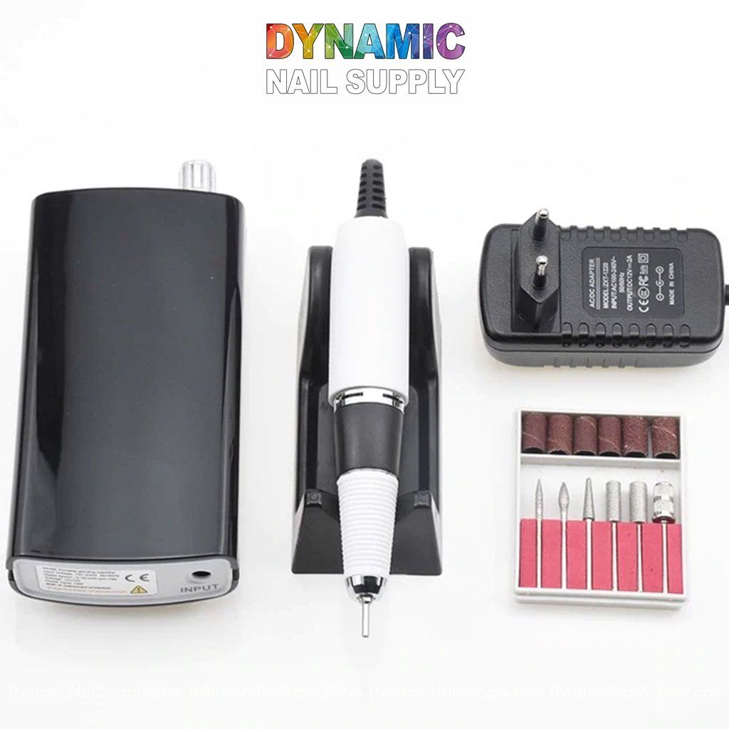 Manicure Nail Drill Machine - Electric File - Nail Tools - Dynamic Nail Supply