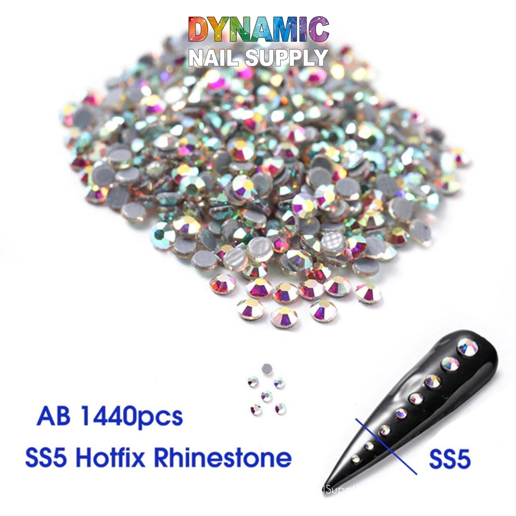 QH16100 Nail Art Rhinestones 3D Gems Decorations - Dynamic Nail Supply