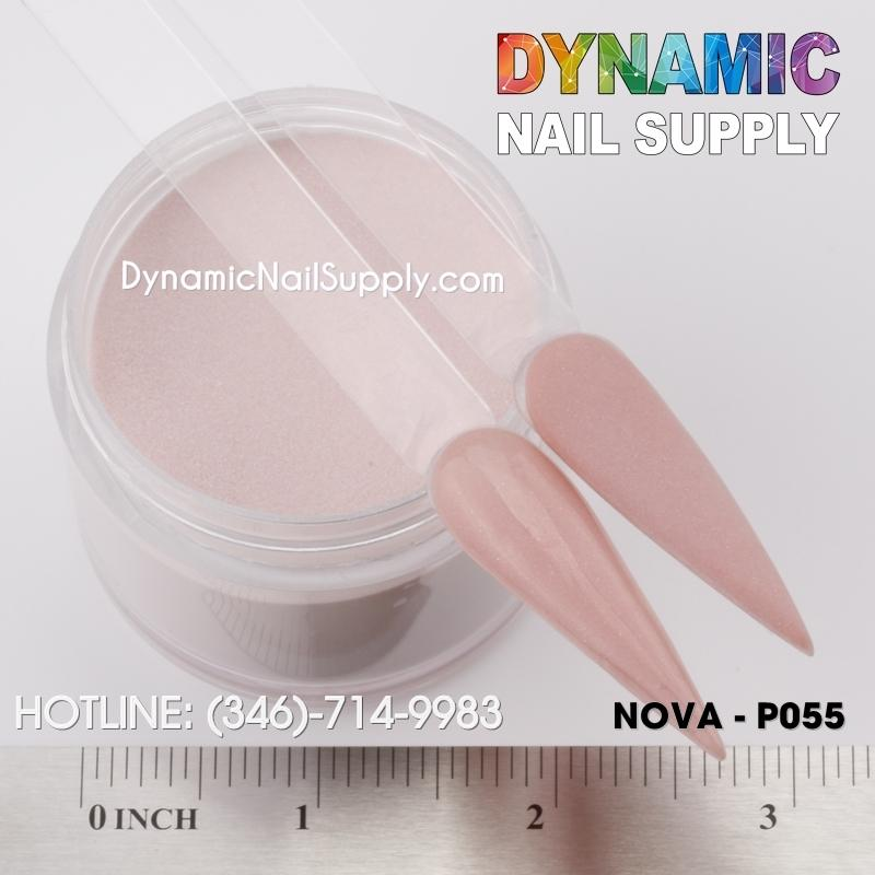 Acrylic Nails Powder Nude color 01-P55 - Dynamic Nail Supply