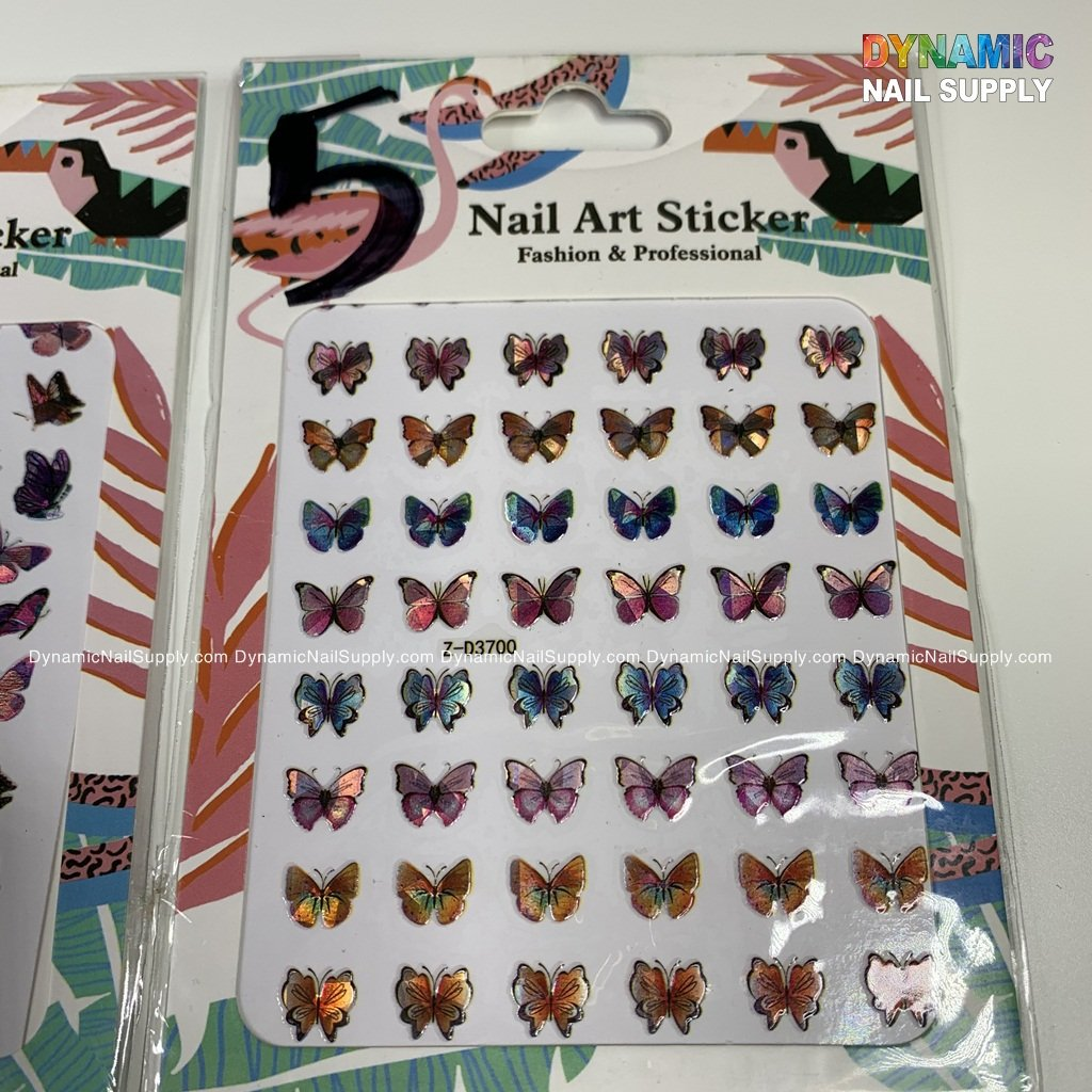 Butterfly stickers for nails art design - 5