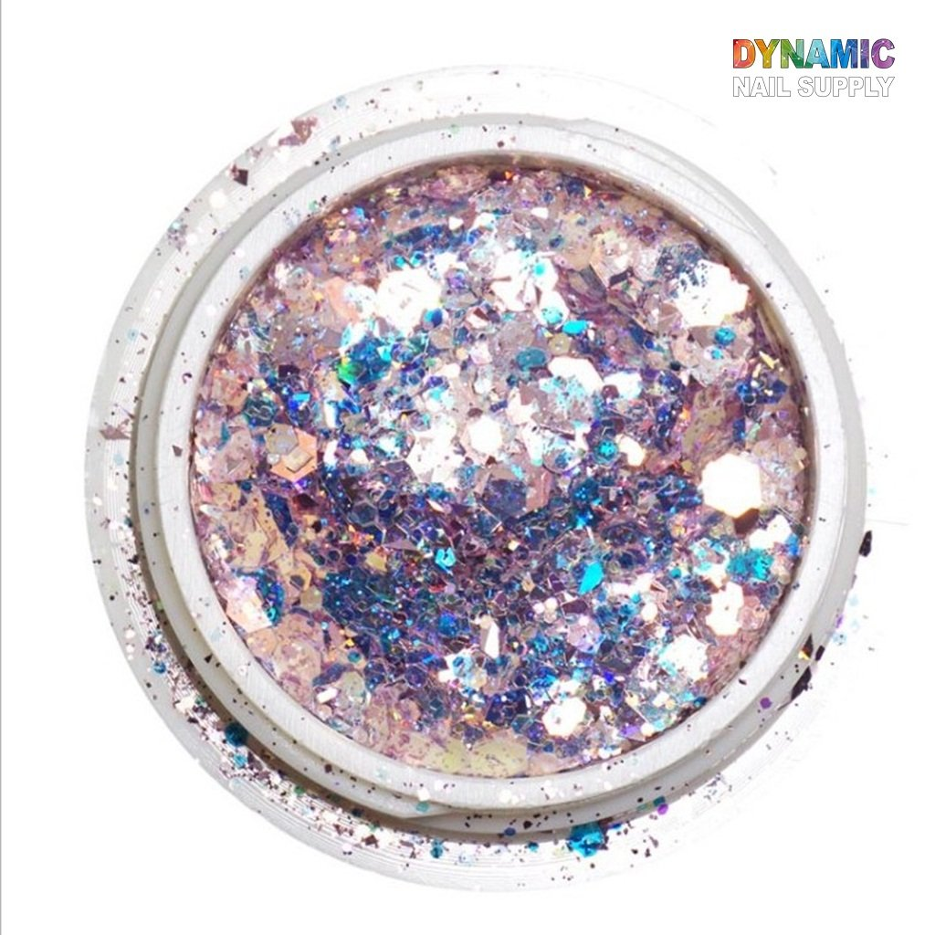 8 Colors Chunky Glitter Nail Sequins Body Glitter for Nail Art Glitter Sequins Iridescent Flakes Colorful Pentagon Paillette Festival Body Glitter Face Hair Makeup Manicure