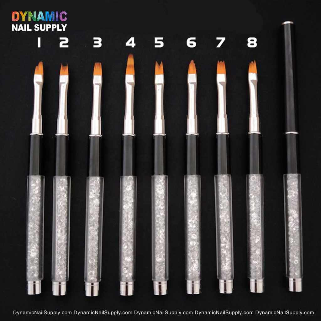 Nail Art Point Drill Drawing Brush Pen Double Ended Dots Tool Set, Double Ended Paint Brush for Nail Design