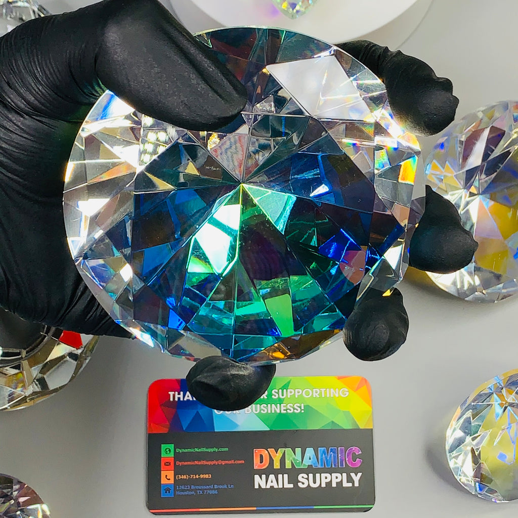 "10cm (4"") Display Diamond - K9 Crystal Diamond shape for Display and Decoration"