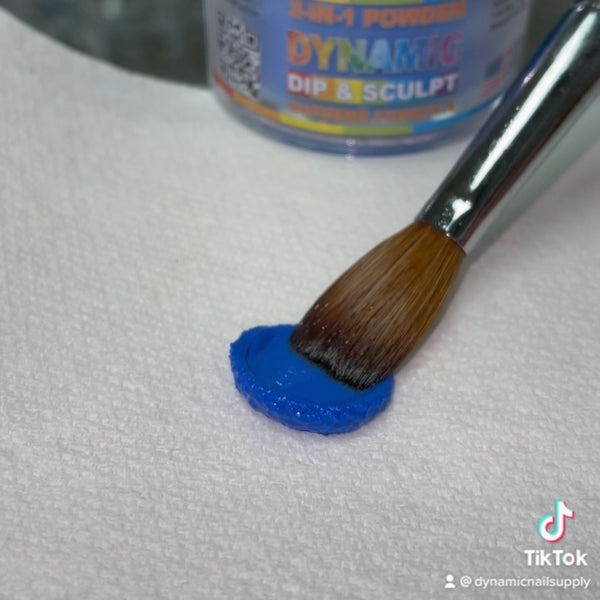 Dynamic Acrylic Dipping Powder S007 - Solid Blue