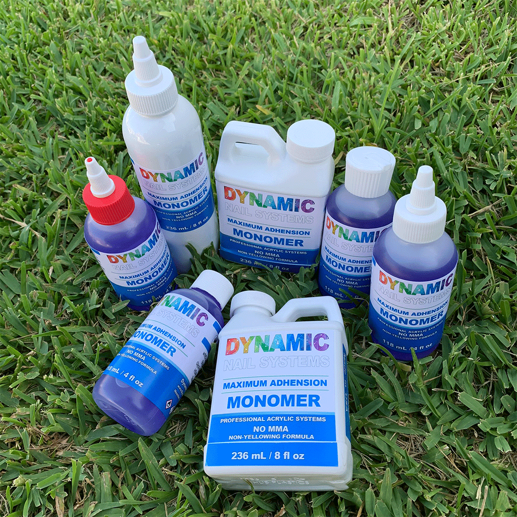 Dynamic Nail Systems Monomer - EMA Nail Liquid - Healthier Nail Liquid Monomer - Dynamic Nail Supply