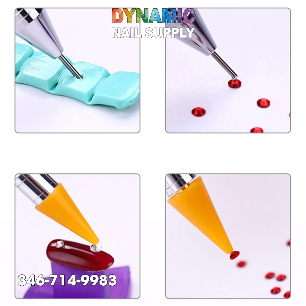 Set Painting Nail Art Drawing Design Dotting Eyeliner Pen Brush - Dynamic Nail Supply