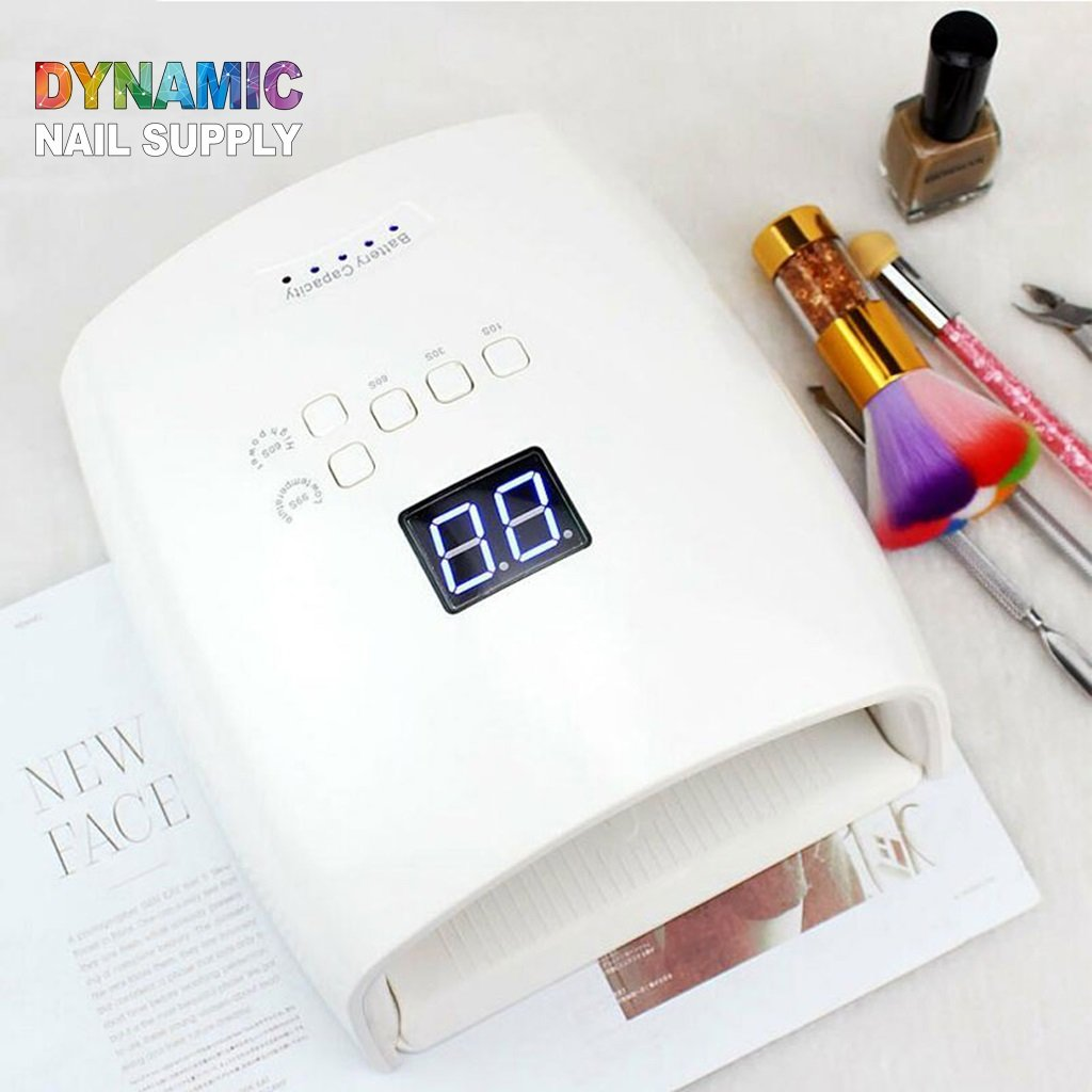 Nail Dryer for Gel Nail Polish, Gel Nail Lamp with LCD Display, Smart Sensor, Removable Base for Manicure and Pedicure