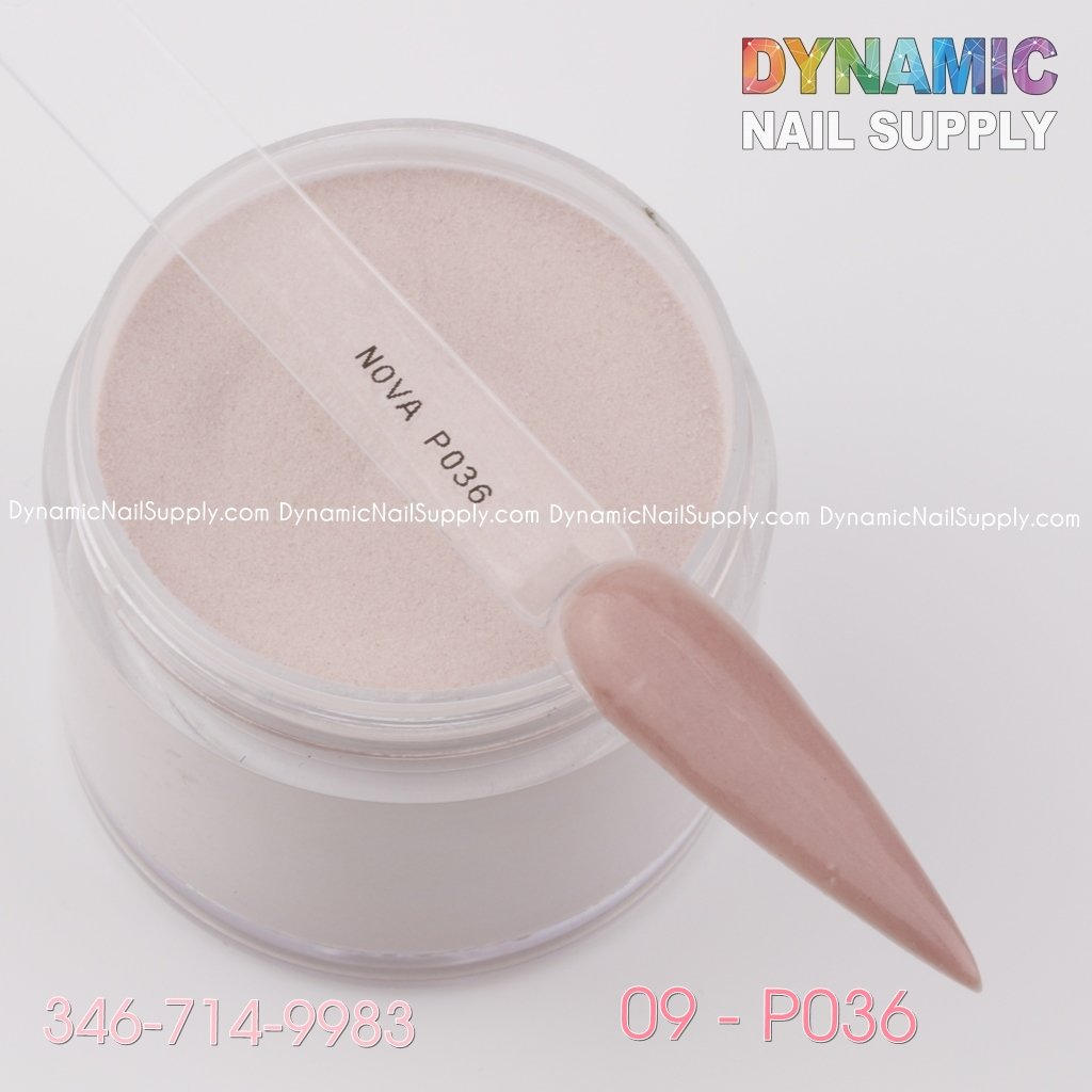 Acrylic Nails Powder Nude color 02-P036 - Dynamic Nail Supply