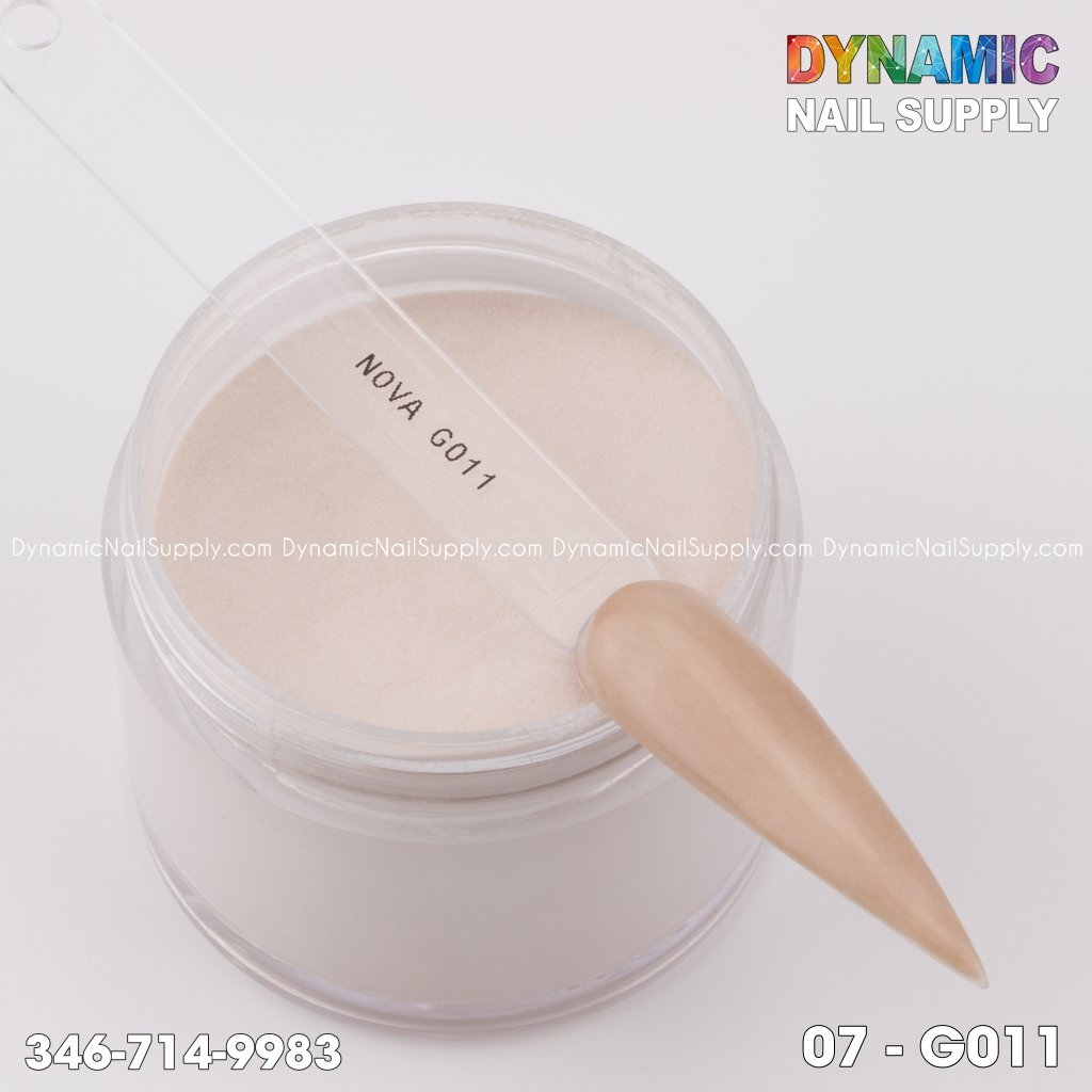Acrylic Nails Powder Nude color 03-G011 - Dynamic Nail Supply