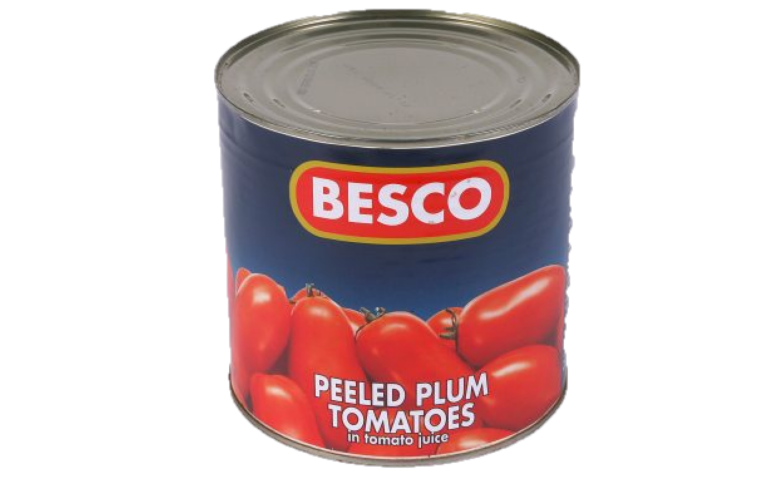 Tomatoes - Whole Peeled 2.6kg (Product of Italy)
