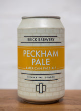 Load image into Gallery viewer, 330ml Can of Peckham Pale Beer from Brick Brewery in Peckham, London