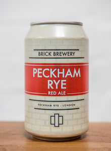 330ml Can of Peckham Rye Beer from Brick Brewery in Peckham, London