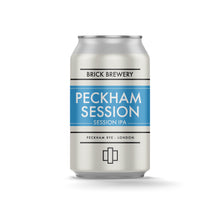 Load image into Gallery viewer, 330ml Can of Peckham Session IPA from Brick Brewery in Peckham, London