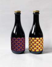 Load image into Gallery viewer, Two 375ml bottles from Brick Brewery's Winterberry Sour Range