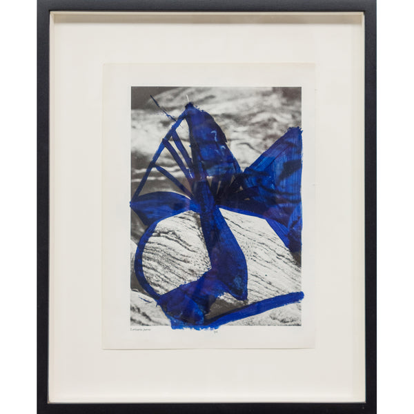 <p>Yael Burstein<p>Untitled (blue)