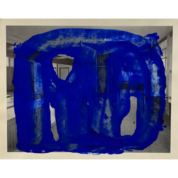 <p>Yael Burstein<p>Untitled (true-blue)
