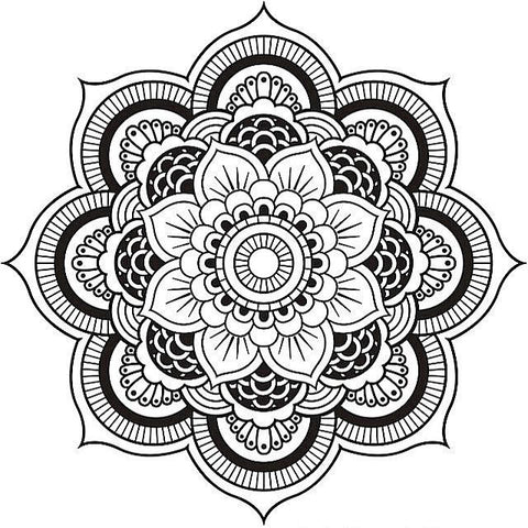 mandala anti-stress à colorier