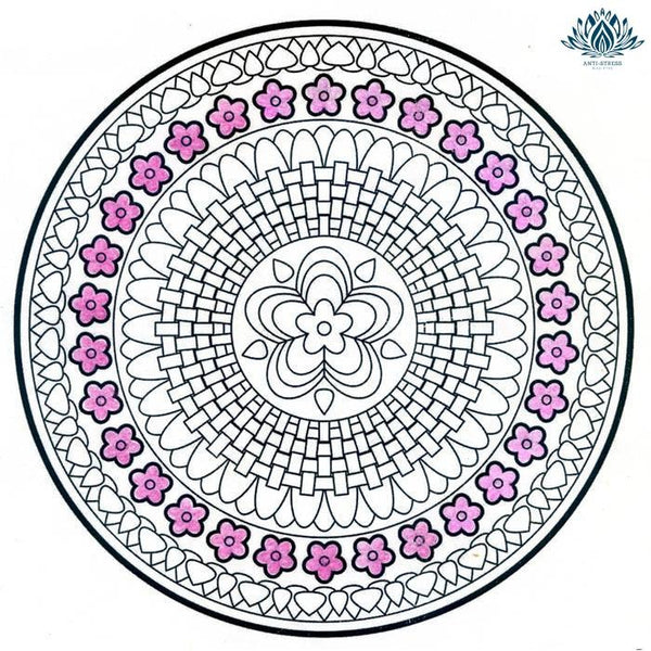 Antistress coloriage mandala
