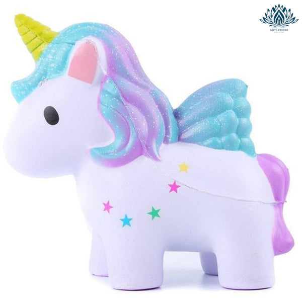 Balle anti-stress Squishy licorne