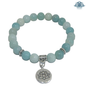 Bracelet pierre anti-stress amazonite