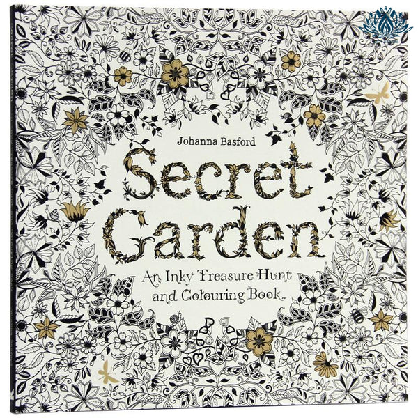 Coloriage jardin secret anti stress